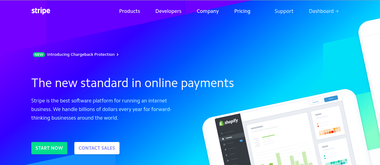 Stripe Website
