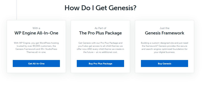 How to get the Genesis Framework