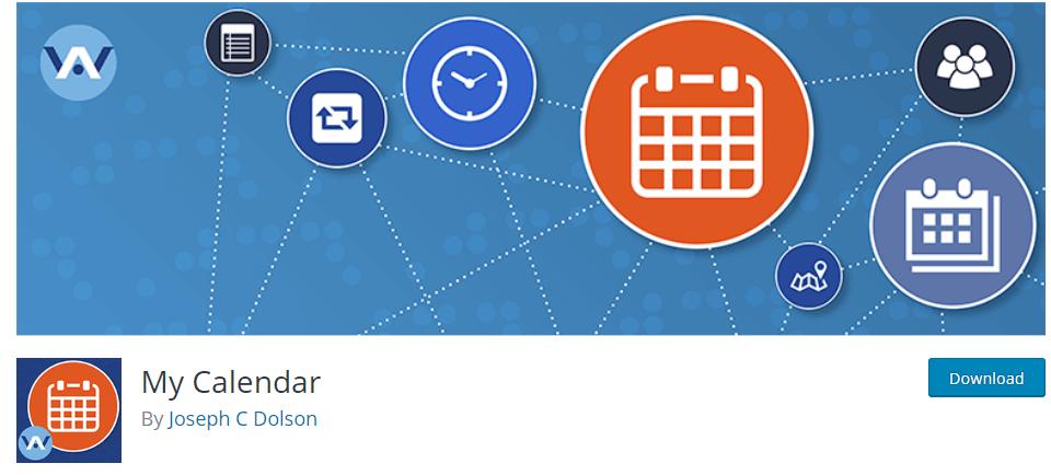 My calendar booking plugin