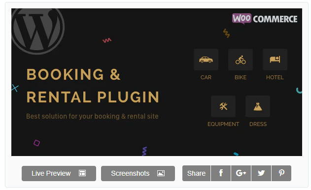 Rnb rental and booking plugin